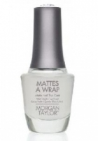 Mattes A Wrap 15ml: Morgan Taylor Matte